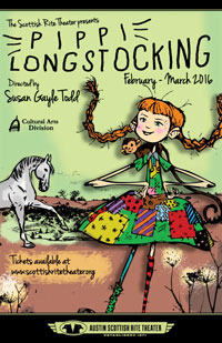Pippi Longstocking poster 2016