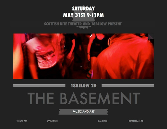 THE BASEMENT May 31 9-11PM