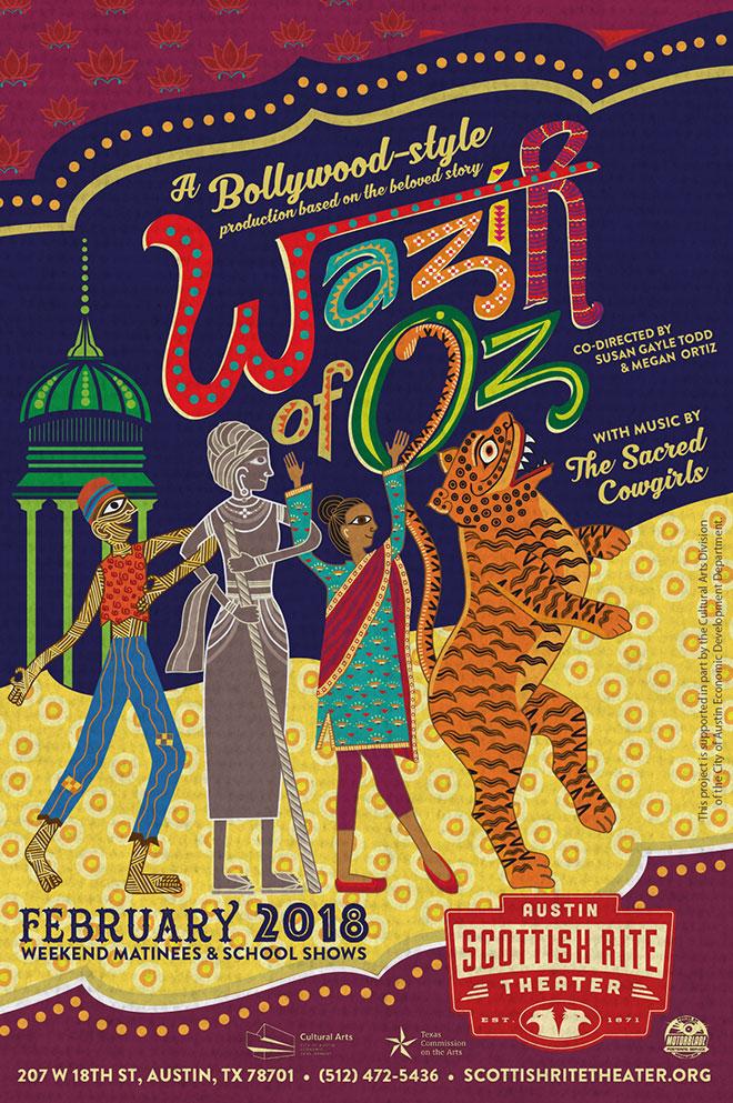 Wazir of Oz poster