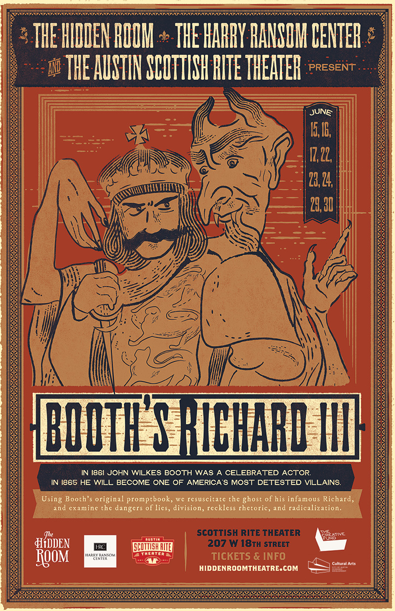Booth's Richard III poster