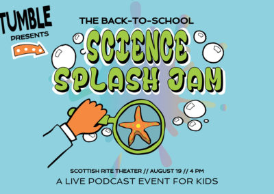 Tumble's Back-To-School Science Splash Jam, 2018