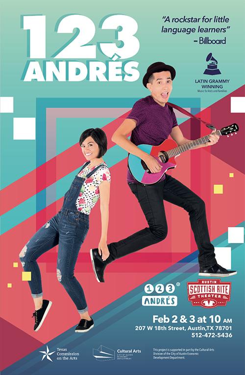123 Andrés poster