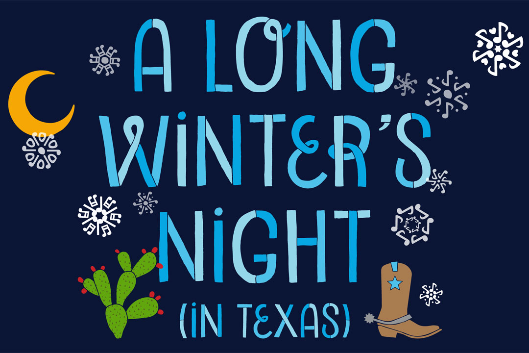 A Long Winter's Night in Texas