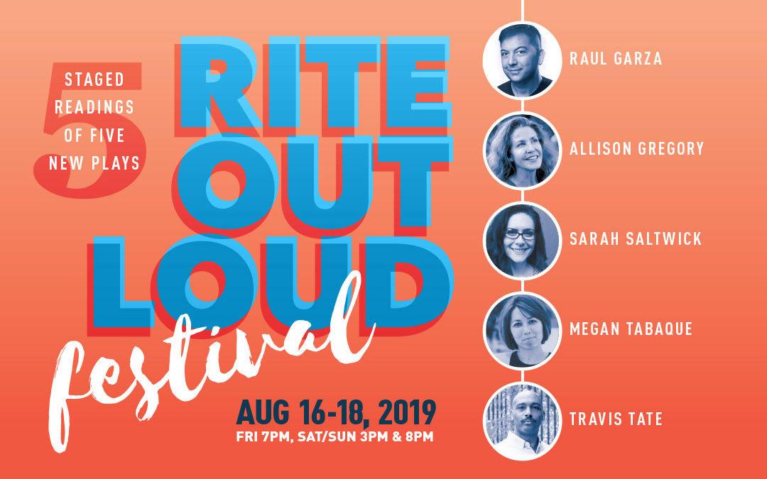 Rite Out Loud Festival, 2019
